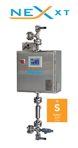 Rigaku NEX XT Process XRT for Sulfur